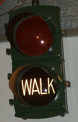 Eaglelux Wait Walk Pedestrian Signal