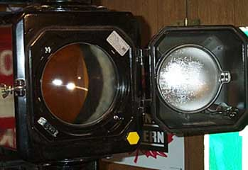 optical limiter with light diffuser removed